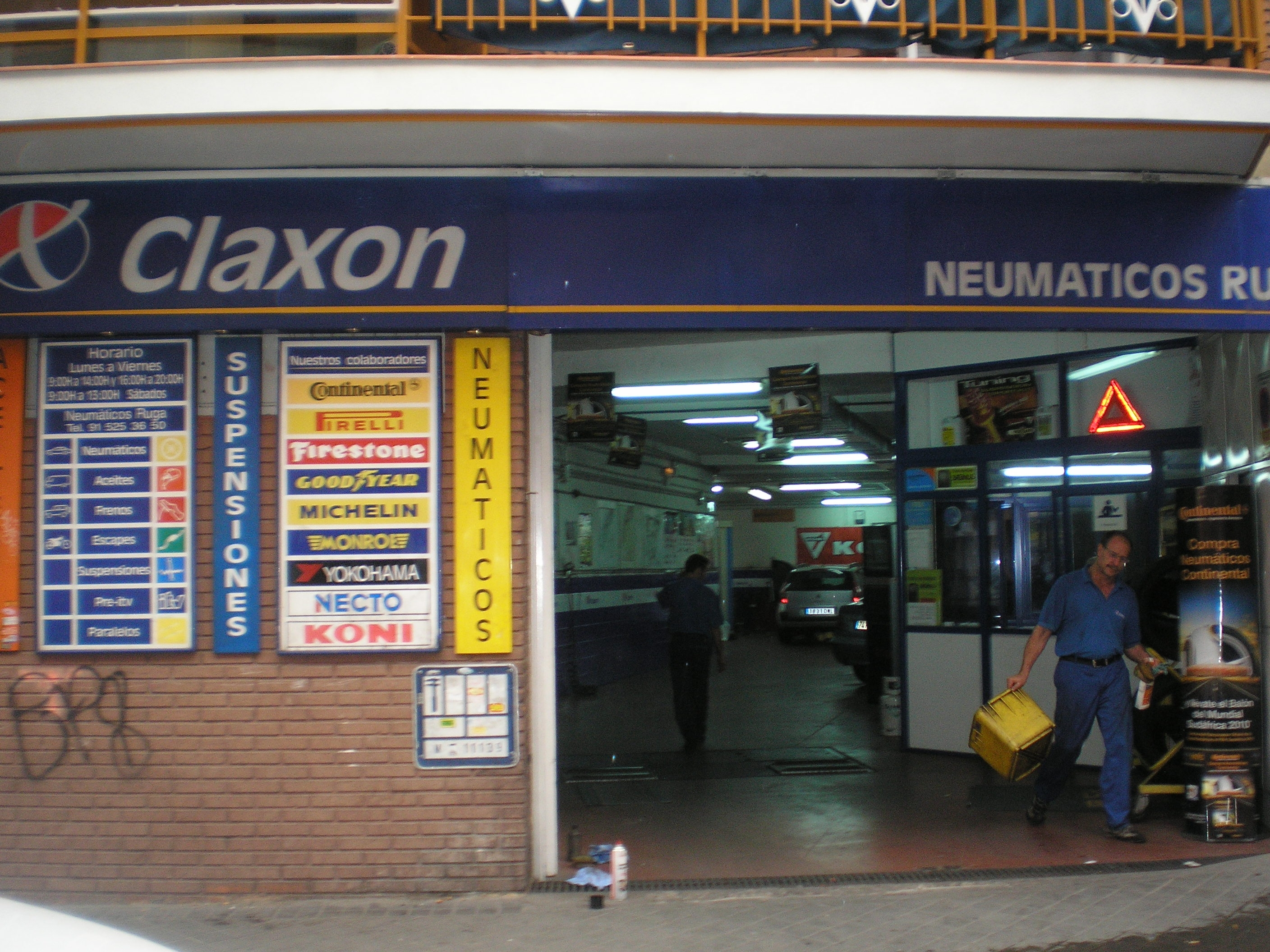 claxon madrid