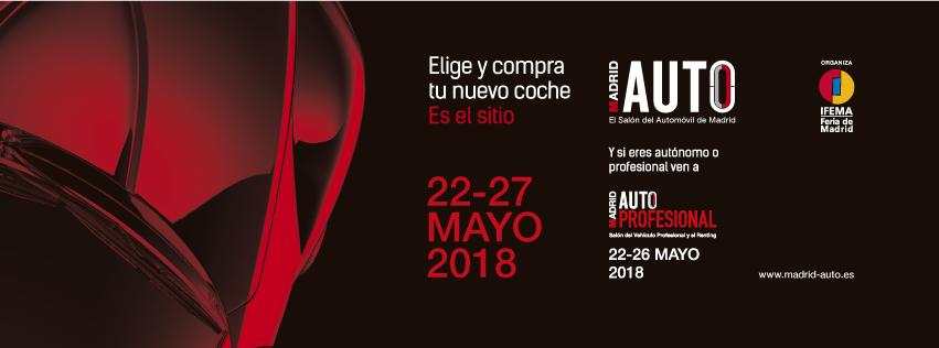 Madrid Auto 2018, vuelve el Salón del Automóvil de Madrid a IFEMA