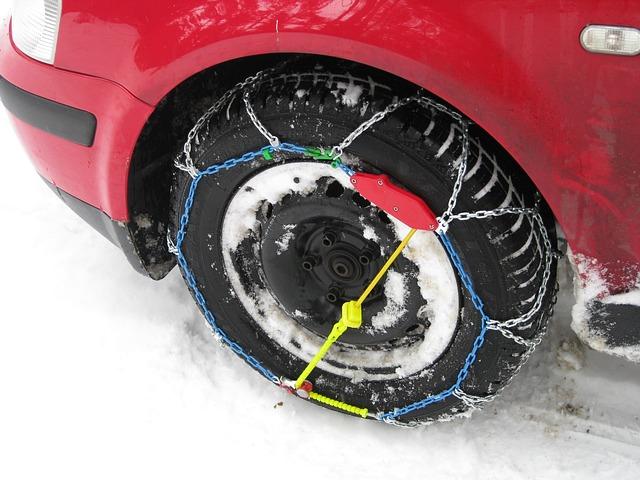 Pasos para colocar las cadenas de nieve a las ruedas del coche de forma fácil y rápida (aunque lo creas imposible)