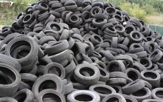Neumáticos como combustible