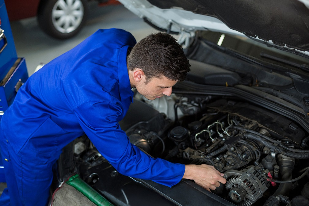 Motor de arranque del coche