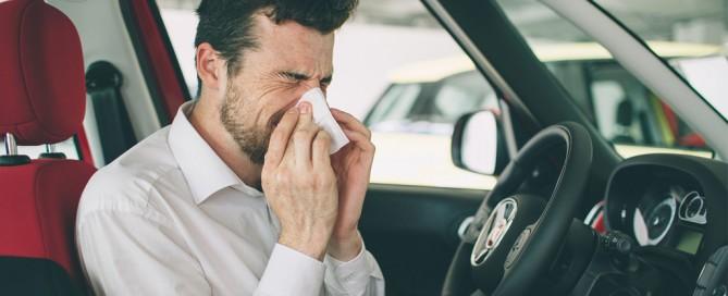 Alergia y conducción