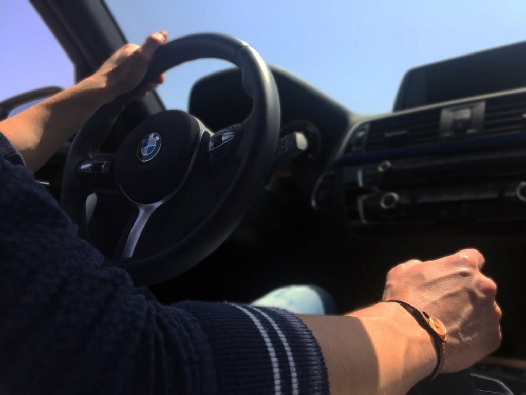 Cambiar de marchas en el coche