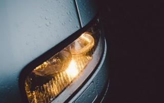 Tipos de luces del coche
