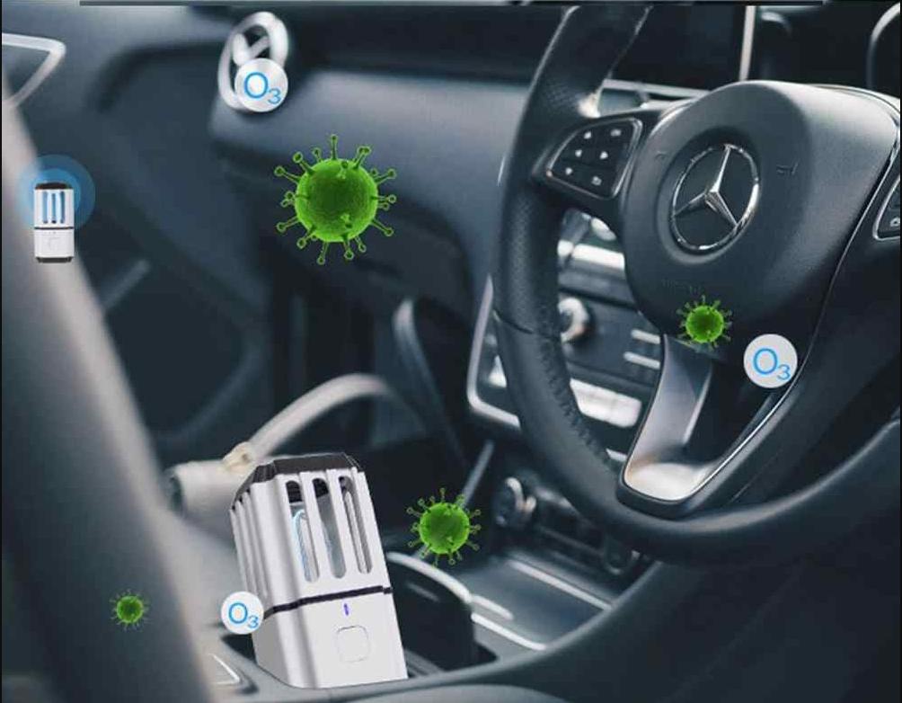 desinfección de vehículos con ozono